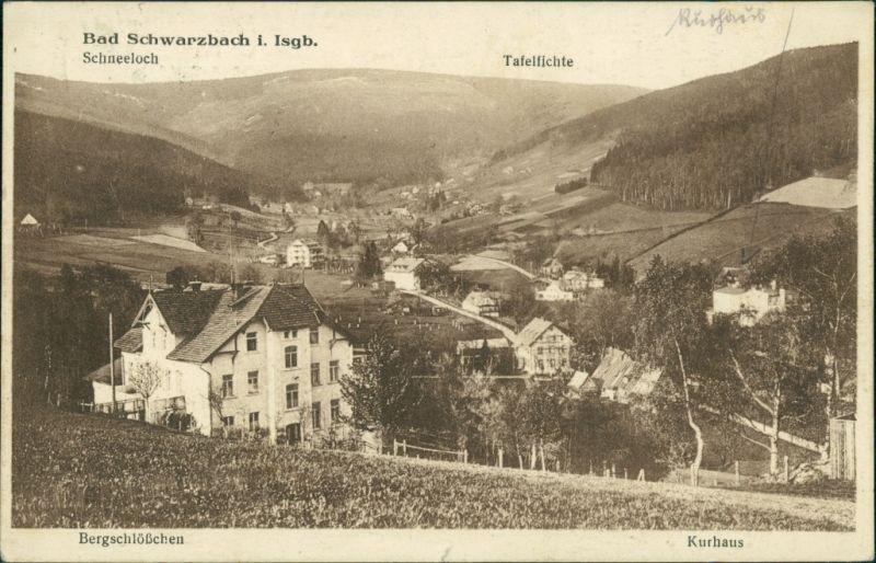 Bad Schwarzbach-Bad Flinsberg Czerniawa-Zdrój Świeradów-Zdrój Stadtpartie 1927