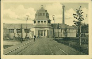 Ansichtskarte Leipzig Weltausstellung Buchgewerbe 1914