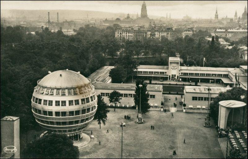 Foto Dresden Kugelhaus - Stadt, Rathaus 1931 Privatfoto