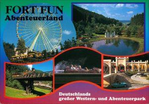 Ansichtskarte Wasserfall-Bestwig Fort Fun Abenteuerland 1995