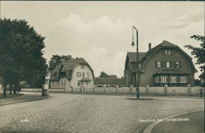 Postcard Neudamm (Neumark) Dębno Bahnhofstraße Myśliborski (Kreis Soldin)  1929