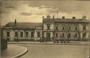 Postcard Neudamm (Neumark) Dębno Hotel Kaiserhof Myśliborski (Kr Soldin)  1917