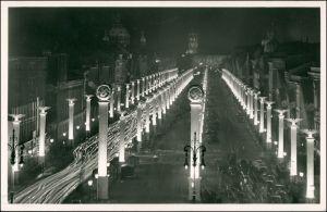 Ansichtskarte Mitte-Berlin Propaganda Unter den Linden im NS Festschmuck 1940