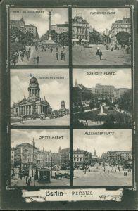 Mitte Berlin Alexanderplatz, Spittelmarkt, Dönhoffplatz, Potsdamerplatz 1905
