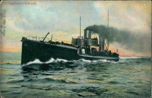 Hochseetorpedoboot Schiffe/Schifffahrt - Kriegsschiffe (Marine) 1907