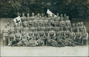 Ansichtskarte  Soldaten   Soldatengruppe KUK Österreich Ungarn 1915