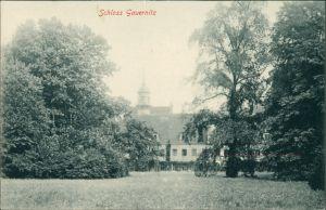 Ansichtskarte Gauernitz-Klipphausen Gauernitzer Schloss 1916