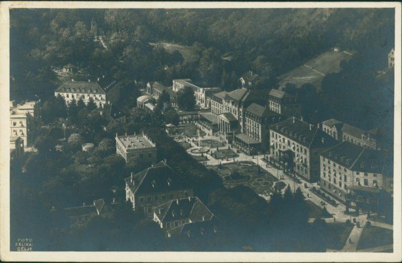Postcard Cilli Celje Blick auf die Stadt 1929