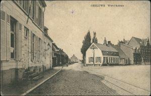 Postkaart Ggheluwe Geluwe Werviekstrate/Straße 1913