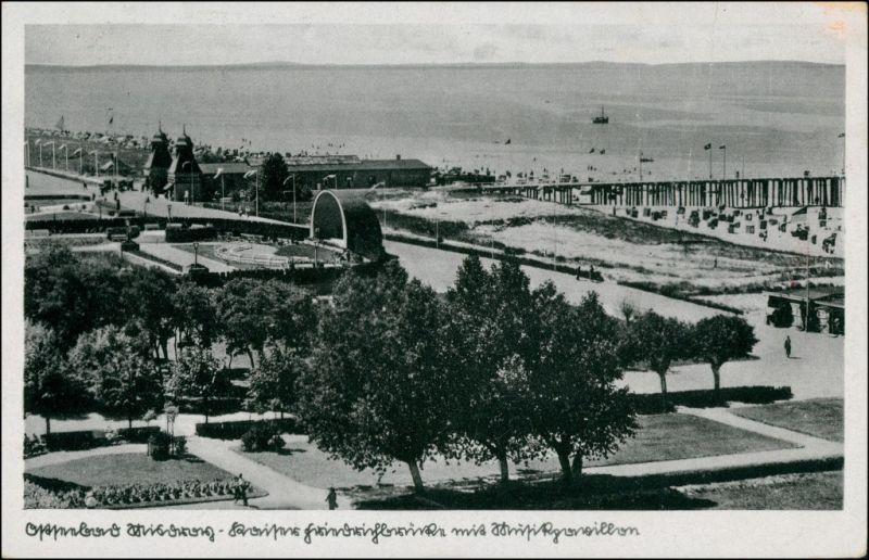 Postcard Misdroy Międzyzdroje Strandpromenade 1938