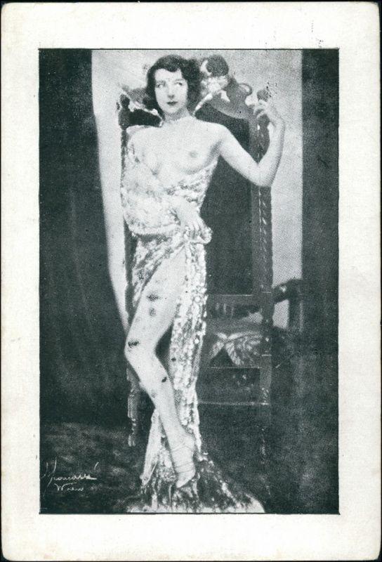 Menschen / Soziales Leben - Erotik (Nackt - Nude) Nackte Frau 1913