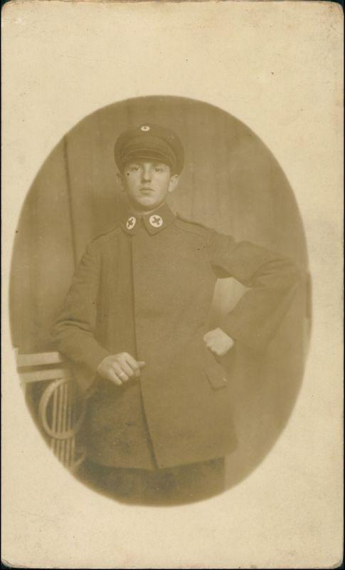 Militär/Propaganda 1.WK (Erster Weltkrieg) - Sanitäter 1915 Privatfoto