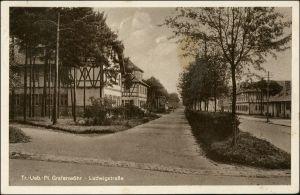 Ansichtskarte Grafenwöhr Truppenübungsplatz - Ludwigstrasse 1937