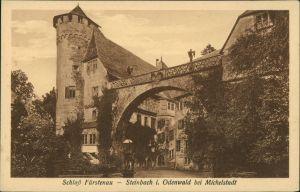 Ansichtskarte Steinbach-Michelstadt Schloss Fürstenau 1914