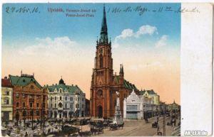 Neusatz a. d. Donau Nový Sad (Нови Сад / Újvidék) Franz Josef Platz 1916 1916