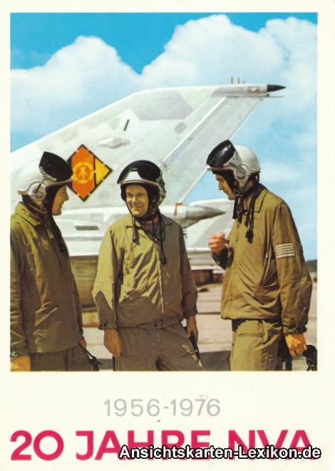 Ansichtskarte  1956-1976 - 20 Jahre NVA Luftwaffe 1976
