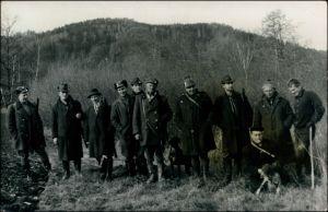 Foto .Tschechien Jäger bei der Jagd - Tschechien 1950 Privatfoto