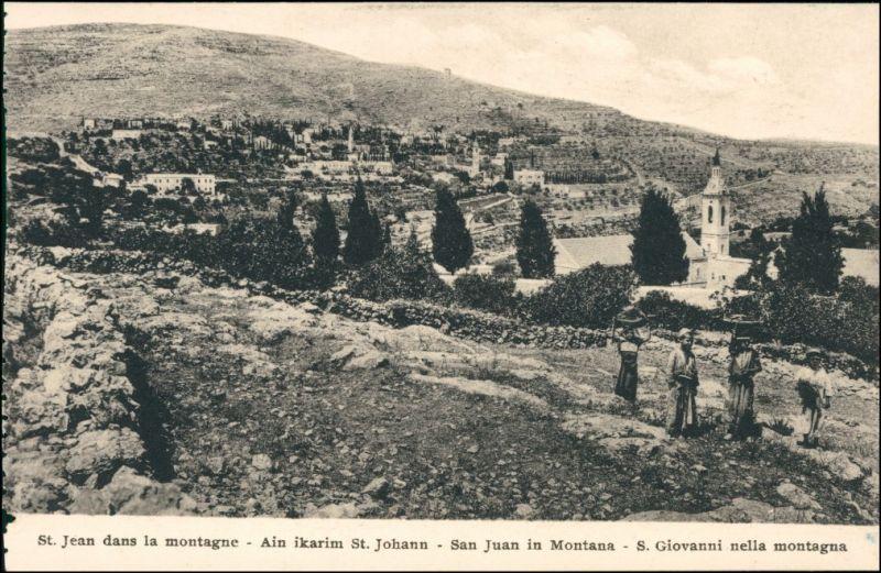 Postcard allgemein St. Jean dans la montagne 1916