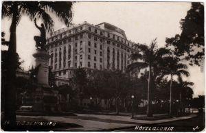 Postcard Rio de Janeiro Hotel Gloria 1922