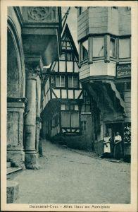 Ansichtskarte Bernkastel-Kues Berncastel-Cues Altes Haus am Markt 1926