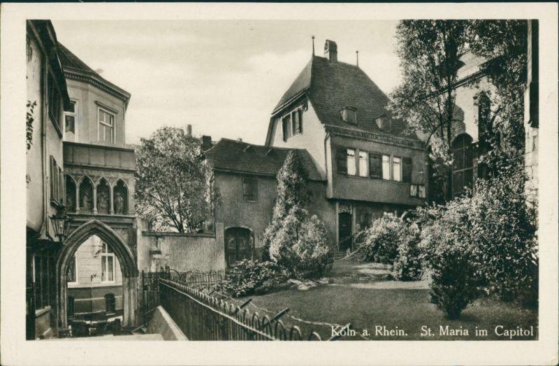 Ansichtskarte Köln St. Maria im Capitol 1936