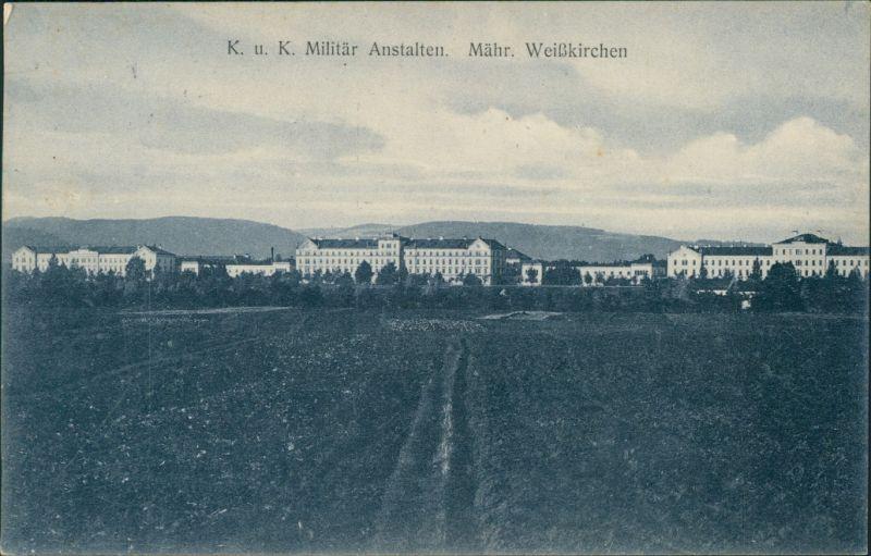 Mährisch Weißkirchen Hranice na Moravě KuK Militärakademie 1904