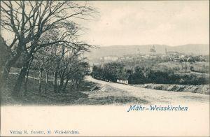 Mährisch Weißkirchen Hranice na Moravě Partie an der Stadt 1909
