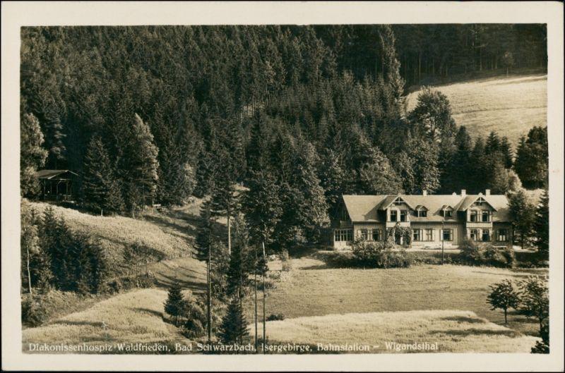 Bad Schwarzbach-Bad Flinsberg  Świeradów-Zdrój Diakonissenheim 1938