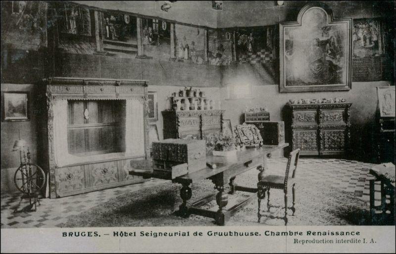 Brügge Brugge | Bruges Hotel Seigneurial de Gruuthuuse Renaissance 1909