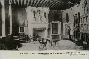Brügge Brugge | Bruges Hotel Seigneurial de Gruuthuuse Gothic 1911
