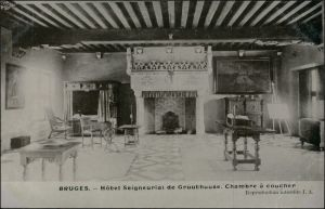 Brügge Brugge | Bruges Hotel Seigneurial de Gruuthuuse Coucher 1911