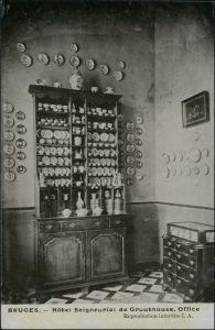 Brügge Brugge | Bruges otel Seigneurial de Gruuthuuse Office 1911