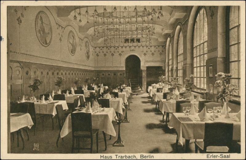 Ansichtskarte Mitte-Berlin Haus Trarbach - Erler Saal 1910 0