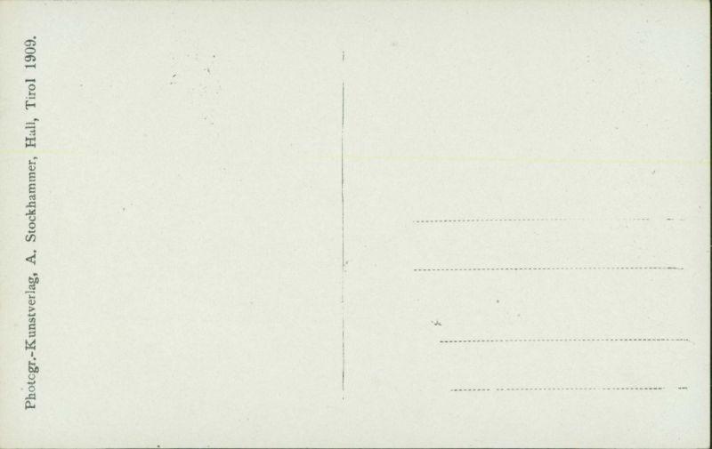 Ansichtskarte Innsbruck Portal - Hausfassade 1909 1