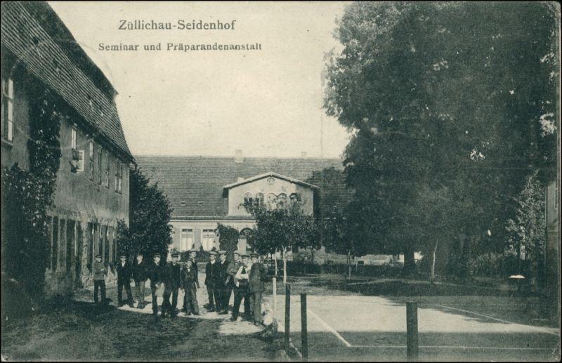 Züllichau Sulechów Seminar und Präparandenanstalt Seidenhof 1910 0