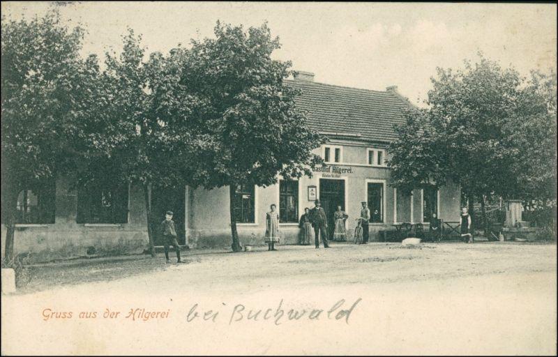Postcard Hilgerei Ninocin Gaststätte 1905 0