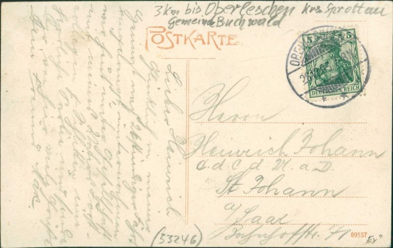 Postcard Hilgerei Ninocin Gaststätte 1905 1