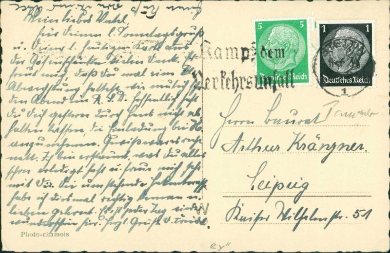 Postcard Stettin Szczecin Luftbild 1934 1
