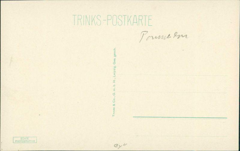 Postcard Stettin Szczecin Rathaus - Manzelbrunnen 1928 1