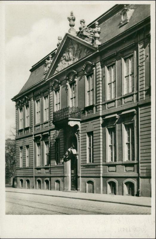 Postcard Stettin Szczecin Provinzial Museum 1932 0