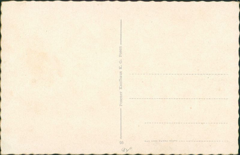 Postcard Posen Poznań Wilhelmstraße 1938 1