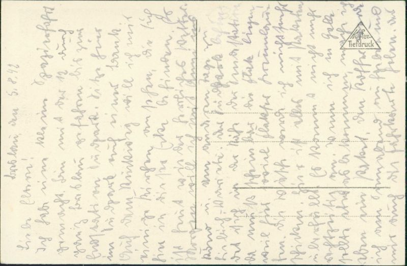 Postcard Breslau Wrocław Dampfer und Lessingbrücke 1930 1