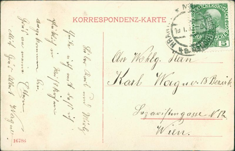 Mährisch Weißkirchen Hranice na Moravě KUK Militäranstalten 1911 1