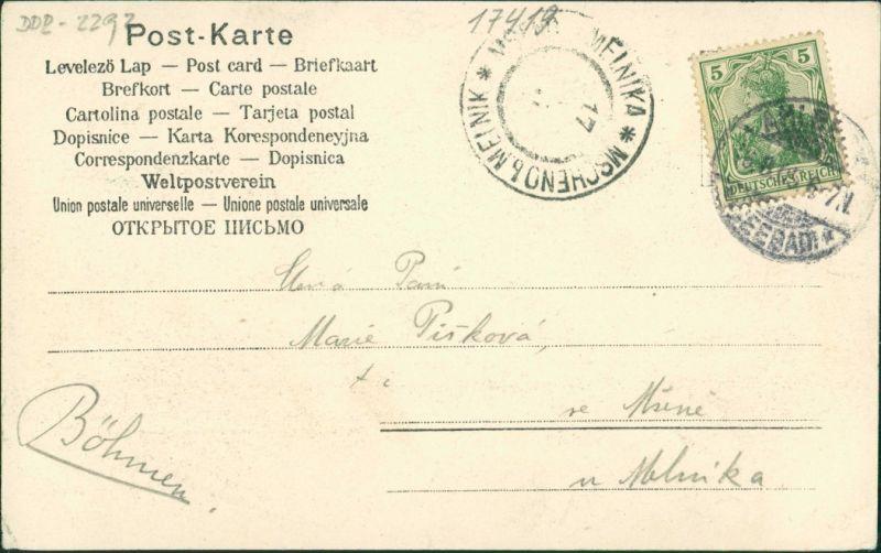 Ansichtskarte Ahlbeck (Usedom) Strandleben - Hotels 1908 1