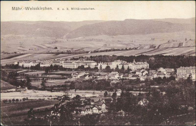 Mährisch Weißkirchen Hranice na Moravě Kuk Militäranstalten 1909