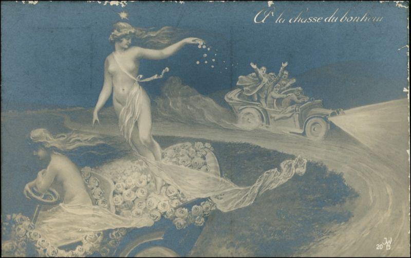 Menschen / Soziales Leben - Erotik (Nackt - Nude) - Fotokunst 1909 Privatfoto