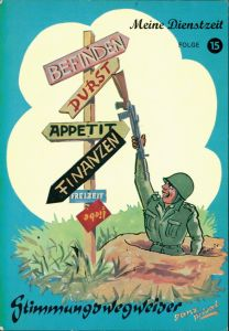 Ansichtskarte  Scherzkarte Meine Dienstzeit - Bundeswehr 1978
