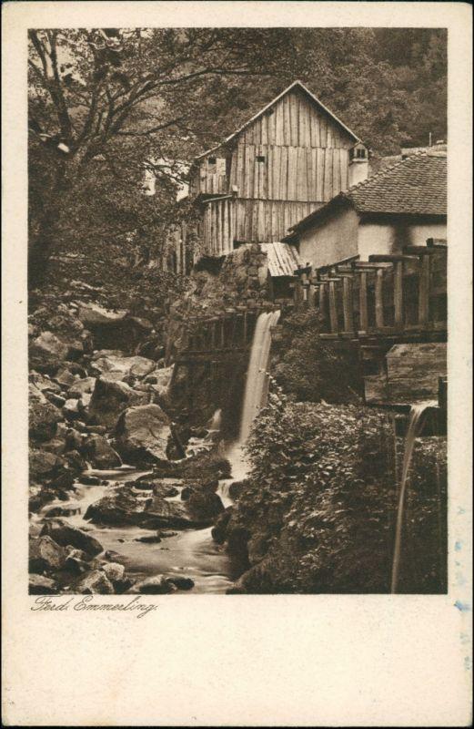 Ansichtskarte  Wassermühle (Gebäude) 1926
