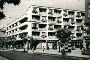 Postcard Sollnock Szolnok Lajos Kossuth Platz/Kossuth-ter 1955
