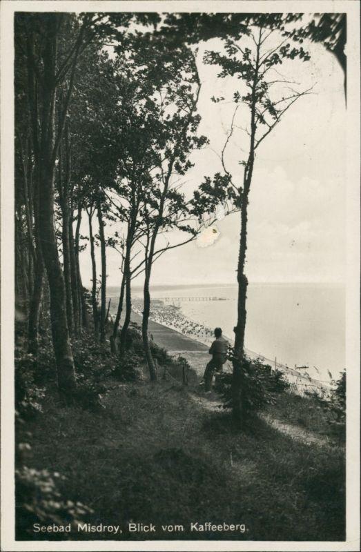 Postcard Misdroy Międzyzdroje Blick vom Kaffeeberg 1934
